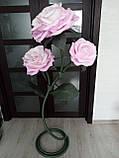 Світильник у вигляді троянди з ізолону, фото 3