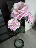 Світильник у вигляді троянди з ізолону, фото 2
