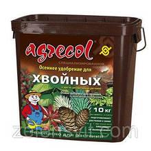 Удобрение 10 кг осеннее для хвойных растений Agrecol