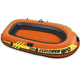 Полутораместная надувная лодка Intex Explorer Pro 200, 196х102 см