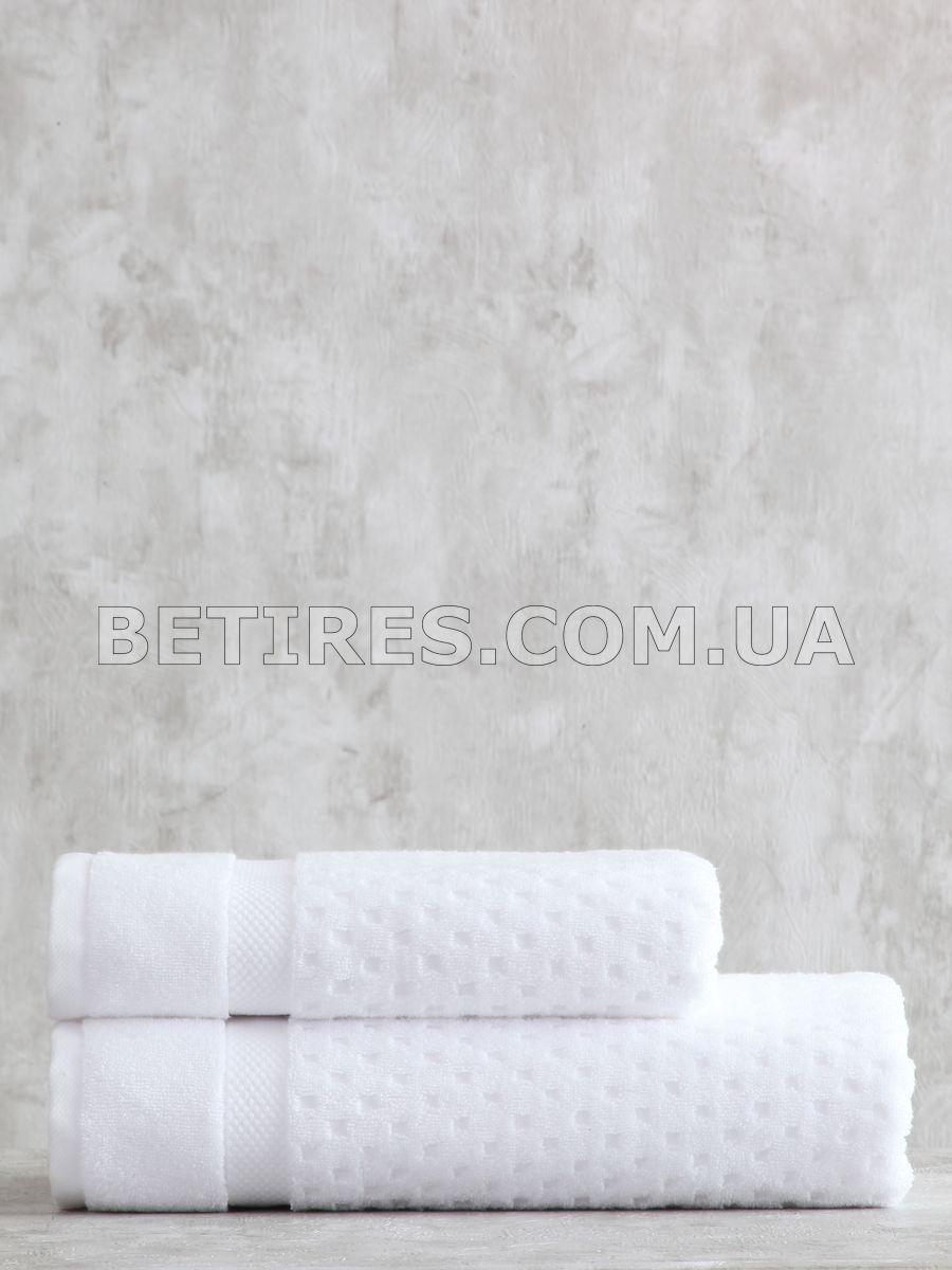 Набір рушників PAVIA LORA BEYAZ (75х150, 50х85) білий