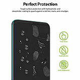 Защитная пленка Ringke для телефона Xiaomi Redmi Note 9 Pro Max / 9 Pro / 9S (в наборе 2 пленки), фото 3