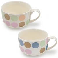 """(Ціна за 6шт) Чашка-супниця """"Glaze circle"""" 450мл"""