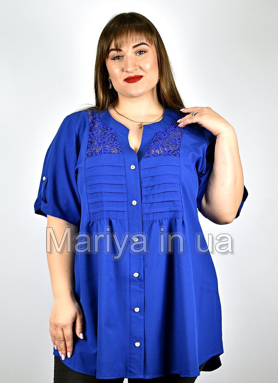 Блуза женская от 52 до 72 большие размеры