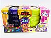 """В'язка маса """"2 в 1 """"Mega Stretch Slime"""" та """"Fluffy Slime"""""""