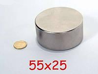 Неодимовый магнит 55х25 см, сила розрыва 100кг, остановка счетчиков