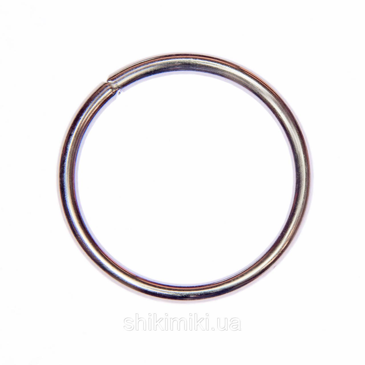 Кольца соединительные KL51-1 (51 мм), цвет никель