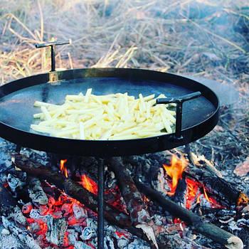 Сковорода туристична з диска, борони 50 см