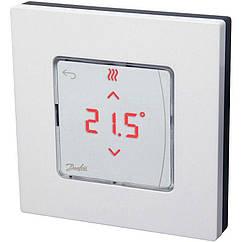 Danfoss Icon RT, wireless display on-wall – Бездротовий кімнатний терморегулятор з дисплеєм, На стіну