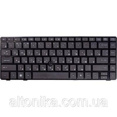 Клавиатура ноутбука HP Elitebook 8460P/ProBook 6460b черн/черн (KB310780)