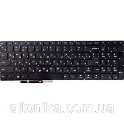 Клавиатура ноутбука Lenovo Ideapad 310-15ABR/15IAP/15ISK черн (KB310763)