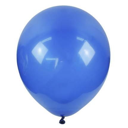 """Шар 12"""" (30 см) Мексика пастель 844 MIDNIGHT BLUE (миднайт блу), фото 2"""