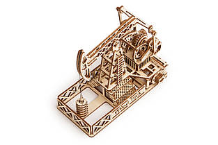 Собранная модель конструктора Нефтяная вышка. Сувенир Wood trick. Гарантия качества (Опт, дропшиппинг), фото 3