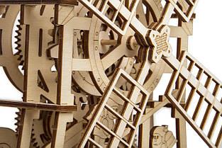 Собранная модель конструктора Мельница. Сувенир из дерева Wood trick. Гарантия качества (Опт, дропшиппинг), фото 2