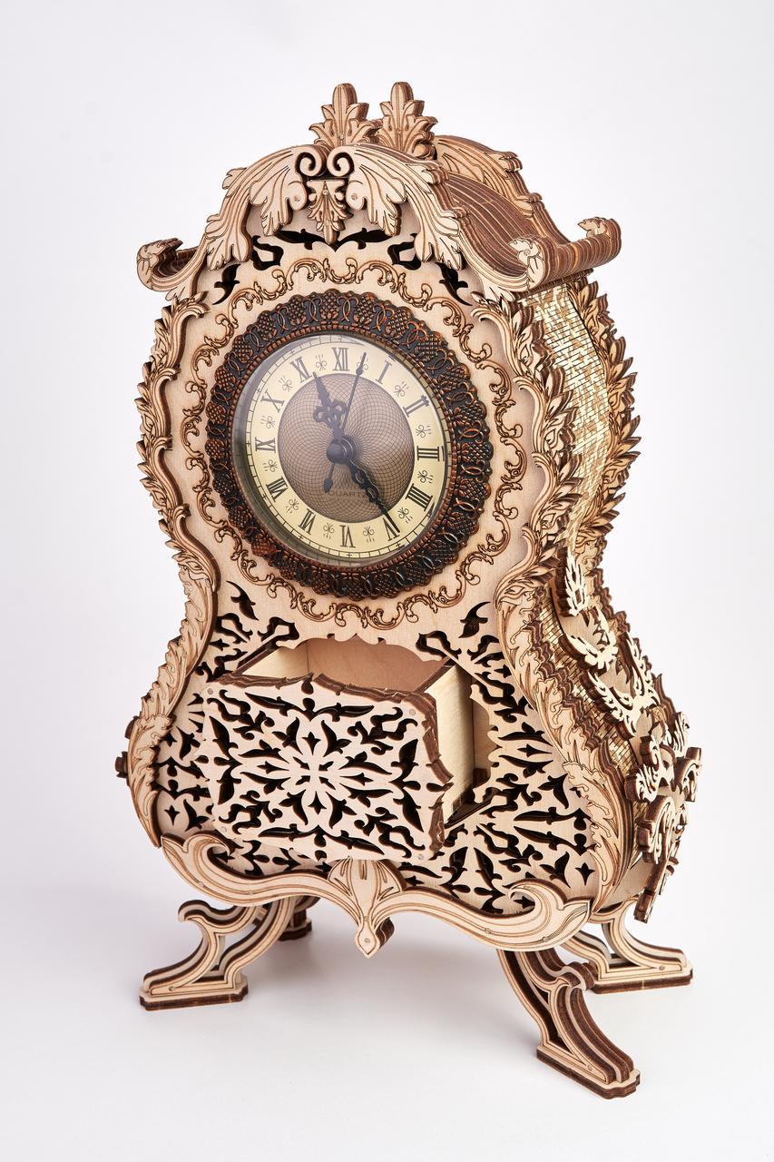 Дерев'яна модель Вінтажні годинник. Сувенір з дерева Wood trick. 100% ГАРАНТІЯ ЯКОСТІ (Опт,дропшиппинг)