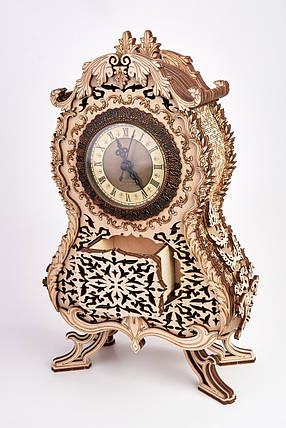 Дерев'яна модель Вінтажні годинник. Сувенір з дерева Wood trick. 100% ГАРАНТІЯ ЯКОСТІ (Опт,дропшиппинг), фото 2