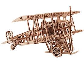 Конструктор деревянный Самолет 3D. Wood trick пазл. 100% Гарантия качества (Опт,дропшиппинг), фото 2