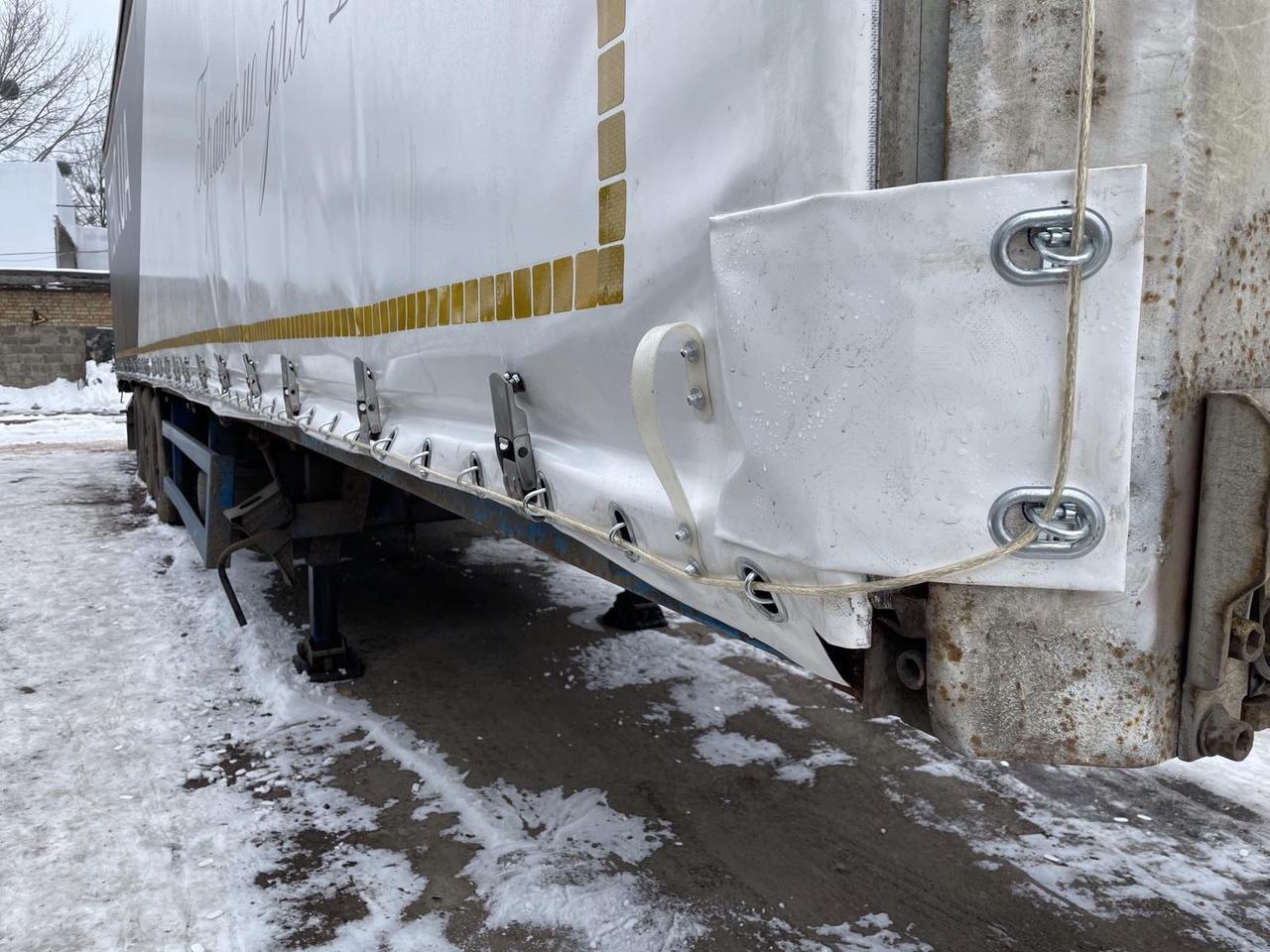 Тенти на автомобільні штори, переробка тенту під митні вимоги, тенти на напівпричепи - Київ