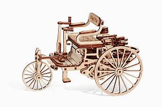 Дерев'яний Конструктор Перший автомобіль. Wood trick пазл. 100% ГАРАНТІЯ ЯКОСТІ(Опт,дропшиппинг), фото 2