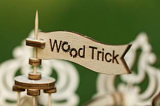 Дерев'яний Конструктор Перший автомобіль. Wood trick пазл. 100% ГАРАНТІЯ ЯКОСТІ(Опт,дропшиппинг), фото 3