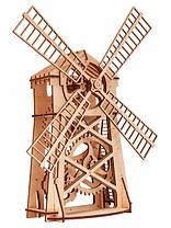 Конструктор деревянный Мельница. Wood trick пазл. 100% Гарантия качества (Опт,дропшиппинг), фото 3