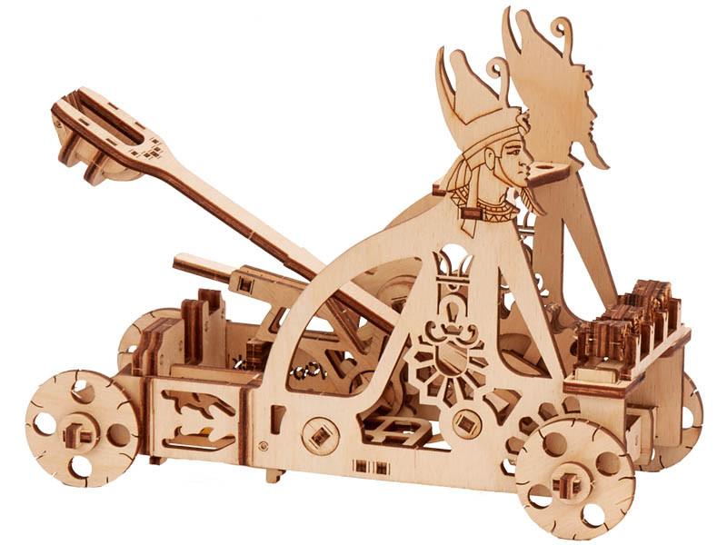 Конструктор деревянный Катапульта. Wood trick пазл. 100% Гарантия качества (Опт,дропшиппинг)