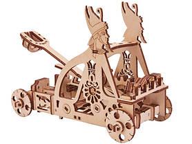 Конструктор деревянный Катапульта. Wood trick пазл. 100% Гарантия качества (Опт,дропшиппинг), фото 2