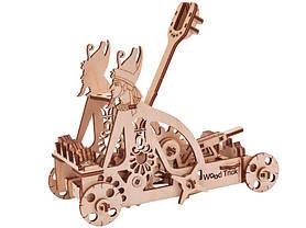 Конструктор деревянный Катапульта. Wood trick пазл. 100% Гарантия качества (Опт,дропшиппинг), фото 3