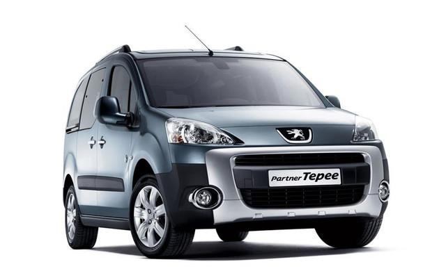 Рейлинги, поперечины Peugeot Partner Tepee (2008+)