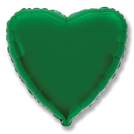 "Сердце 32"" FLEXMETAL-ФМ Металлик зеленый (УП)"