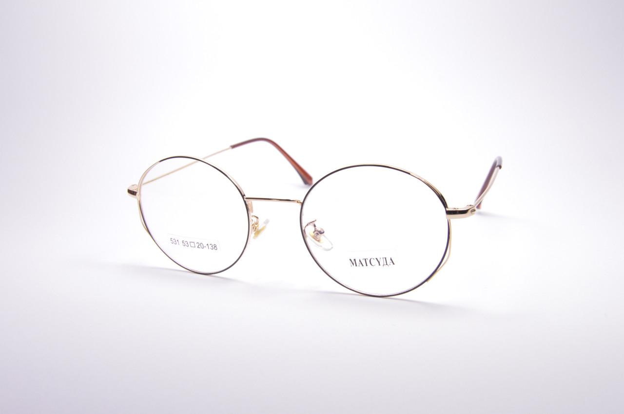 Стильные очки для работы за компьютером MATSUDA Blue Blocker (531 к)