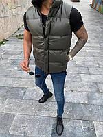 Чоловіча жилетка Нібіру хакі розмір С, фото 1