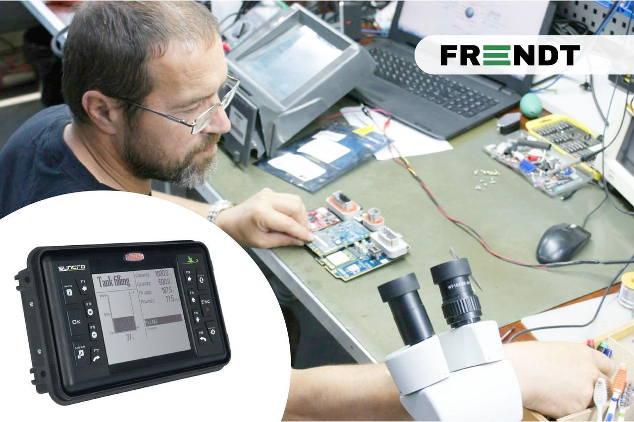 Діагностика, ремонт і сервісне обслуговування агронавігації Arag Syncro (Італія)