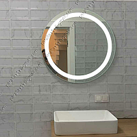 Зеркало с LED подсветкой круглое, 800х800мм, L38, фото 1