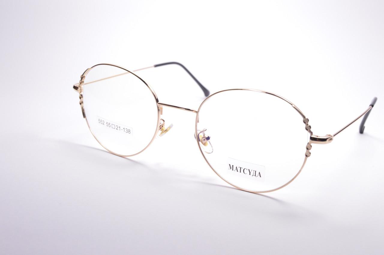 Стильные очки для работы за компьютером MATSUDA Blue Blocker (552 з)