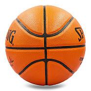 Мяч баскетбольный Composite Leather №7 SPALDING GB SERIES Indoor/Outdoor (оранжевый), фото 2