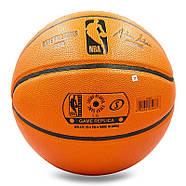 Мяч баскетбольный Composite Leather №7 SPALDING GB SERIES Indoor/Outdoor (оранжевый), фото 3