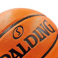 Мяч баскетбольный Composite Leather №7 SPALDING GB SERIES Indoor/Outdoor (оранжевый), фото 4