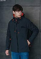 Куртка Staff soft shell gray & black тёмно-серый/чёрный LBL0144 XS, 44