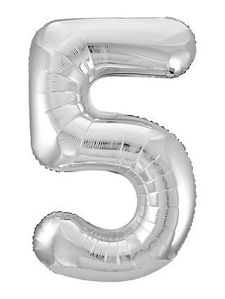 Куля ЦИФРА Agura Slim 5 Срібло (Агура), фото 2
