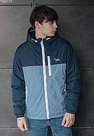 Куртка мужская демисезонная Staff morant blue тёмно-синий/голубой - FFK0175 S, 46