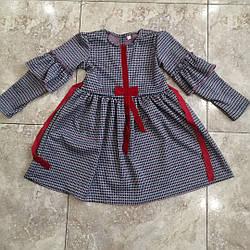 Теплые платья для девочек на 7 км