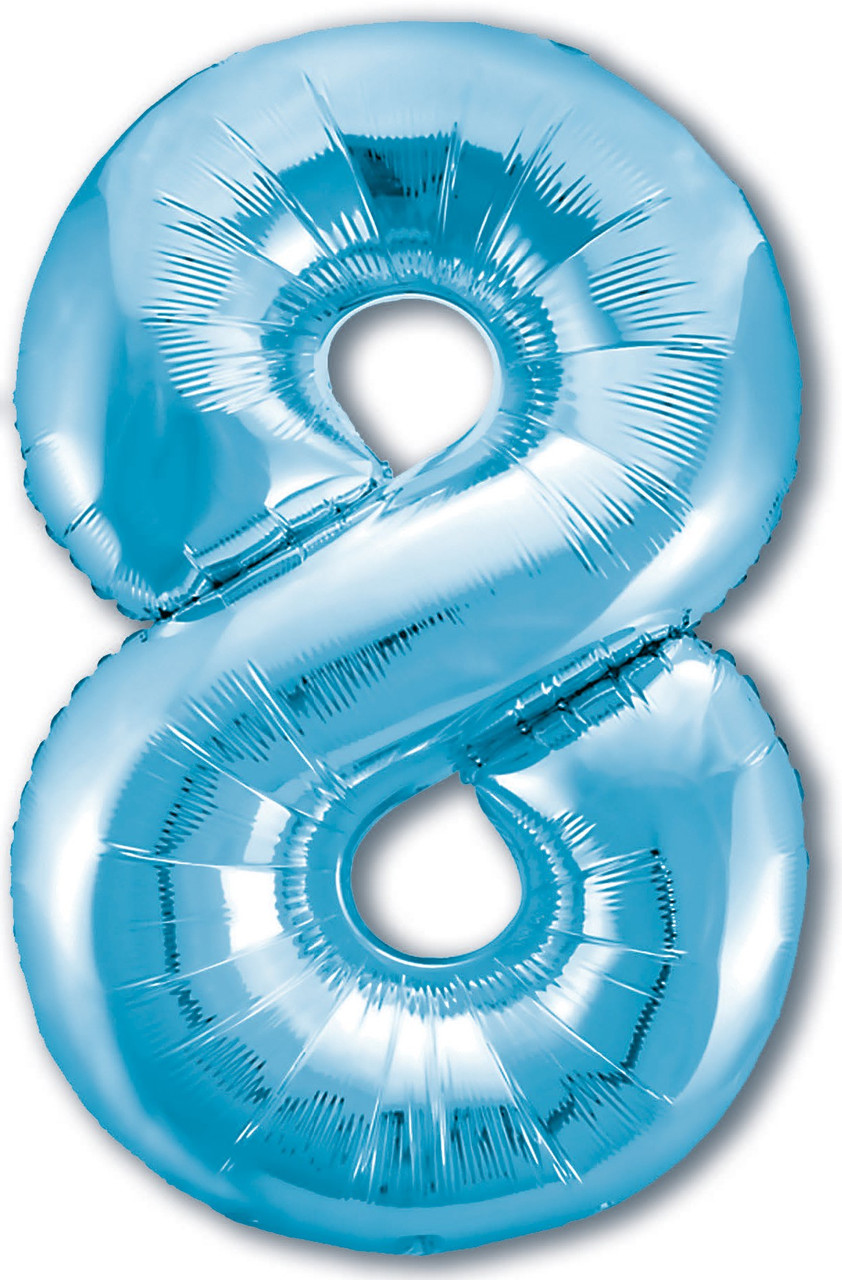 Куля ЦИФРА Agura Slim 8 Холодний блакитний (Агура)
