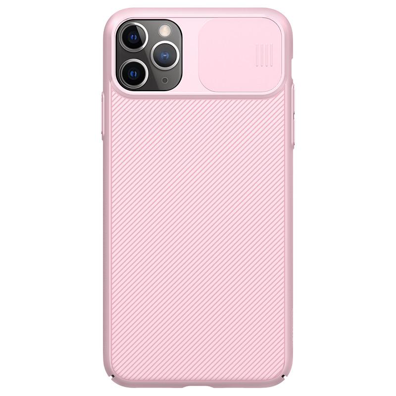 Защитный чехол Nillkin для iPhone 11 Pro Max (CamShield Case) Pink с защитой камеры