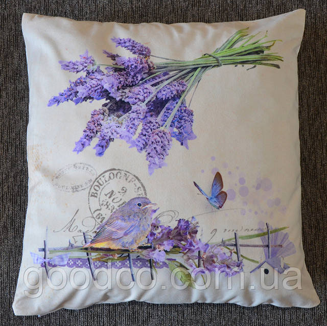 Декоративная подушка стиль прованс (фото)