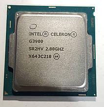 Процессор, CPU Celeron G3900, 2.8GHz, 2 ядра