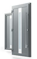 Двері Вхідні металопластикові вуличні HPL