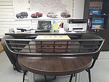 Решетка переднего бампера средняя хром VW Jetta 2011-2014