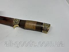 Охотничий нож 26 см Colunbir АК-205. Нож для охоты, рыбалки и туризма. Нож для выживания. Нож с гравировкой., фото 3