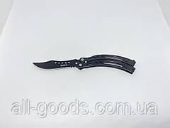 Нож бабочка GERBFR 21,5см АК-34. Балисонг. Нож-бабочка. Складной нож. Нож из кс го cs go ксго, фото 3